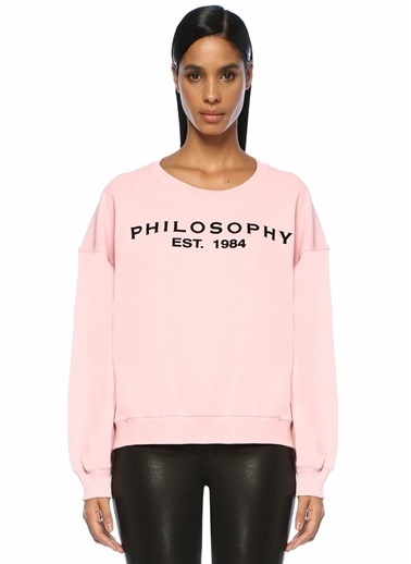 Philosophy Di Lorenzo Serafini Sweatshirt Pembe